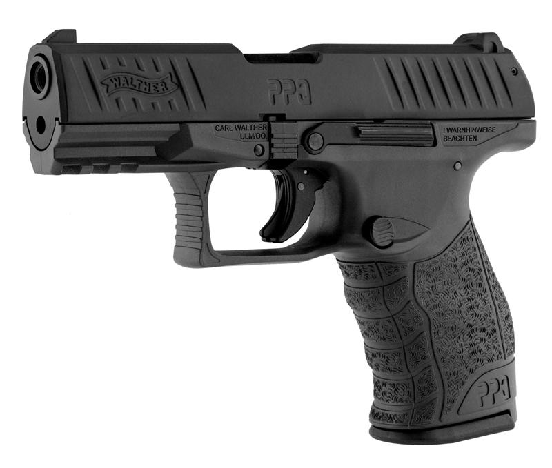 Pistolet à blanc avec rail